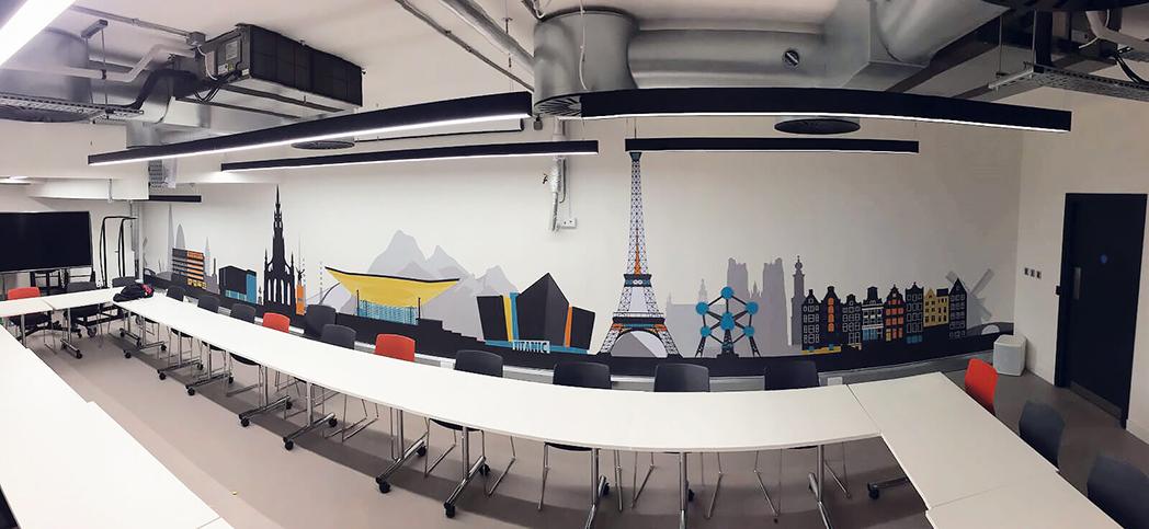 Paris Wall Display