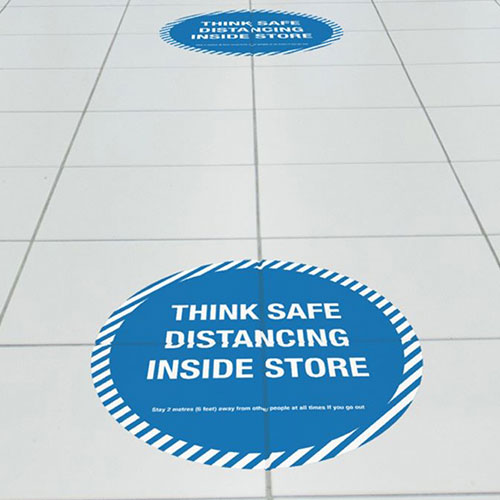 Covid Floor Sticker
